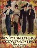 Omslag till AB Nordiska kompaniets varukatalog 1913-14. Dammode.