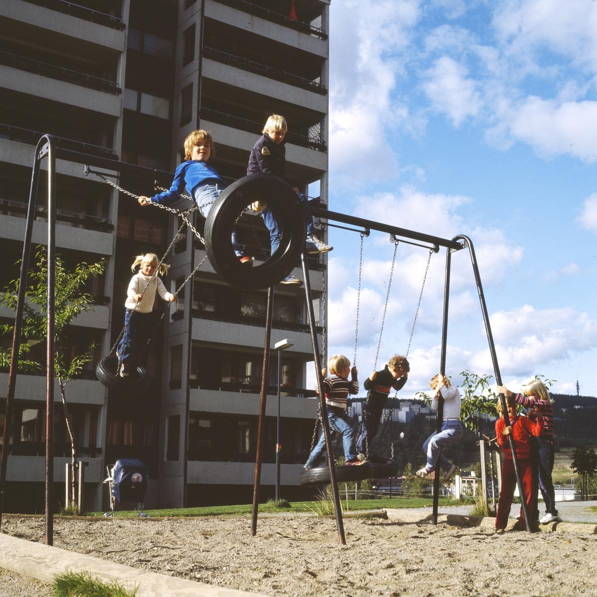 Barna leker Haugen (Foto/Photo)