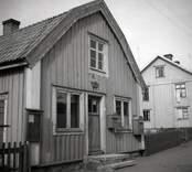 Entrén till postkontoret i Figeholm.