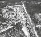 Flygfoto över Paradiset i Nybro.