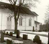 Oskars kyrka: Kyrkan från söder