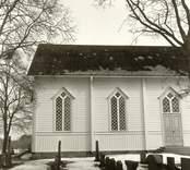 Oskars kyrka: Foto från söder