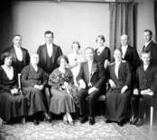 Gruppbild. Enligt Walter Olsons journal är bilden beställd av byråbokhållare Gösta ifrån Västervik.
