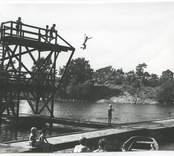 Badplatsen på Gunnarsö.
