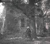 Gamleby kyrka: Kyrkoruin 1926.