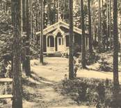 Skogshyddan i Joelskogen, Nybro.