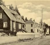 Vykort med motiv från Östermalm i Nybro.