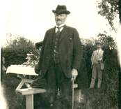 August Falke, grundare av   Kalksandstegelfabriken AB
