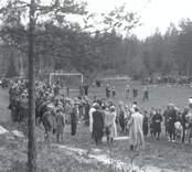 Skolidrottstävlingar en söndag i september eller oktober. Tävlingarna hölls på Misterhults AIS gamla fotbollsplan Oxmossen, Späckemåla.