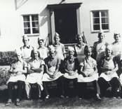 Skolklass, troligen från Mörtfors.