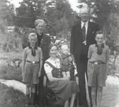 Familjen Tankred Karlsson.