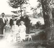 Familjerna Broman och Fredriksson.