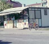 Kiosk i Vimmerby.