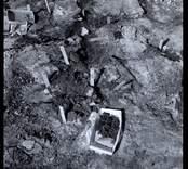 Fynd från utgrävning vid Skedemosse.