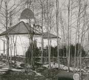 Foto från öster, efter avverkningen i mars 1969.