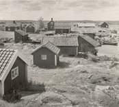 Motiv från fiskeläget vid Väderskär.