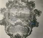 Epitafium i Döderhults kyrka.