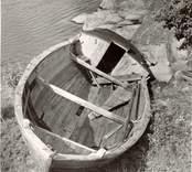 """Marknadsbåten """"Helena"""" av Väderskär."""