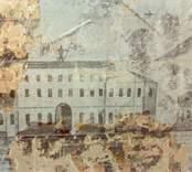 Väggmålningar i en bostad i Harstenslycke, Börseryd, byggd 1846.