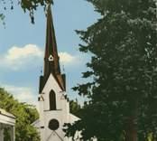 Kyrkan i Överum.