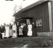 Bröllop i Kristoffersdal 1918,  Gösta Lindsson.