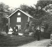 En familj i Stämshult 1911.