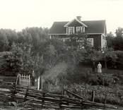 Ett äldre par i Gissebo, Fredriksberg 1924.
