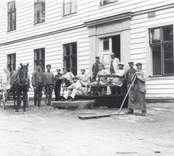 Målning av sjukhemmet Betanien i Falsterbo 1911.