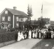Svenssons bröllop i Tibbhult.