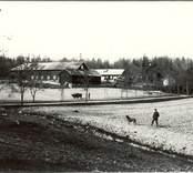Vy från en gård i Bjurvik.