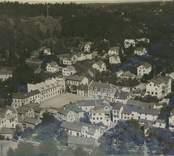 Flygfoto över Gamleby samhälle.