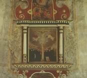 Interiör från Sankta Gertruds kyrka   Epitafium över borgmästaren Didrick Dickman, Västervik 1628.