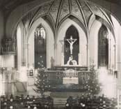 Julbön i Oskarshamns kyrka på 1950-talet.