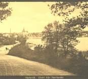 Utsikt från Norrlandet.