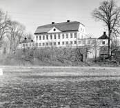 Fredriksbergs herrgård från väster.  Foto E. Hofrén (?) 1959