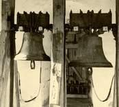 Klockorna i Kristvalla kyrka.