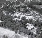 Flygfoto över Nybro.