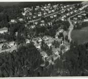 Flygfoto över Verkebäck.