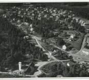 Flygfoto över Gunnebo.