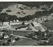Flygfoto över Totebo i Hjorted.