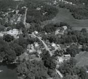 Flygfoto över Emsfors.