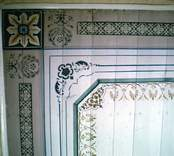 Takmålning i en bostad i  Axebo 9:3, kallad Fiastugan