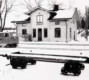 Stationshuset i Jenny strax utanför Västervik.