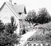 Järnvägsstationen Kråksmåla år 1925.