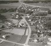 Flygfoto över Björnsholm.