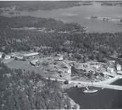 Flygbild över Klintemåla.
