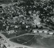 Flygbild över Gamleby.