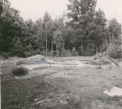 Förmodad hällristningsyta i Döderhult.  8/7 1958 A12368