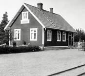 Kianäs järnvägsstation år 1927.