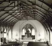 Interiör av Fagerhults kyrka.